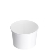 TYPE 65 330ml Ice Cream Cup - White